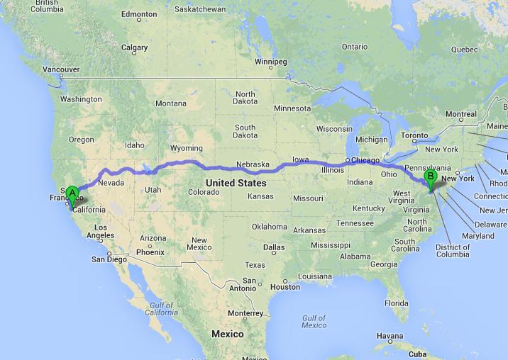 2860 miles